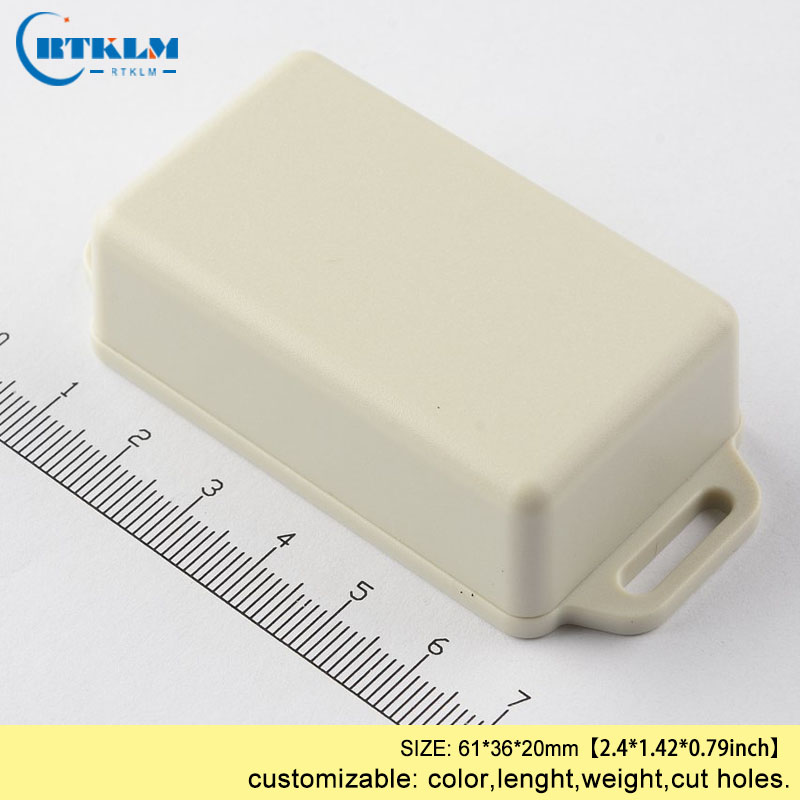 IP54 ABS plastic housing DIY enclosures for electronic desktop enclosure Wall mounting junction box 61*36*20mm small outlet box image