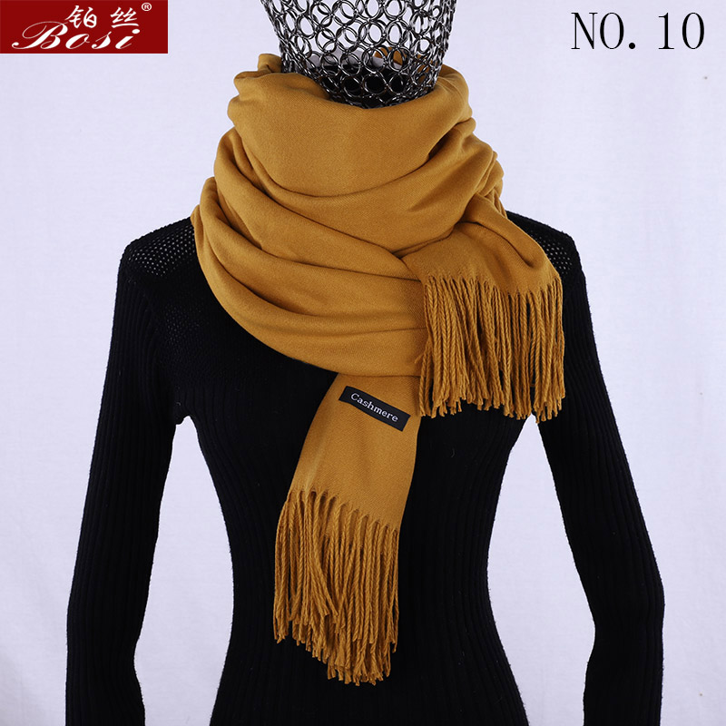 2020 cashmere scarf winter womens luxury brand wool high quality women fashion pashimina for ladies scarves warm shawls stoles