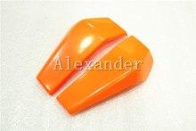 Orange Plastic Motorcycle Radiator Side Cover Guard Protector Pelon For KTM DUKE 125 200 390 2013 2014 2015 2016 KTM390 KTM125