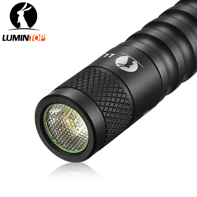 LUMINTOP  Mini Flashlight  EDC01  Osram Led Max 120 Lumens Black Color  Keychain Flashlight   Pocket Torch