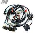 TDR Moto Parts Cable Loom Arnés Regulador de Solenoide Bobina Magneto CDI GY6 150cc ATV Quad Motores Accesorios HHY