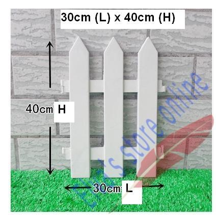 cm x cm plstico vallas barandilla blanca vallas pas europeo inserto estilo tierra para