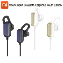 100% Authentic Xiaomi Mi Sports activities Bluetooth Headset Youth Version Xiaomi Wi-fi Bluetooth 4.1 With Microphone IPX4 Waterproof