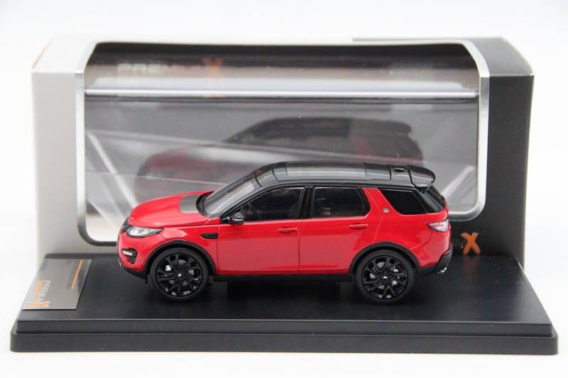 Премиум X 1:43 Смола Range Rover Discovery Sport 2015 Красный PRD402 Diecast модели автомобилей Ограниченная серия коллекции