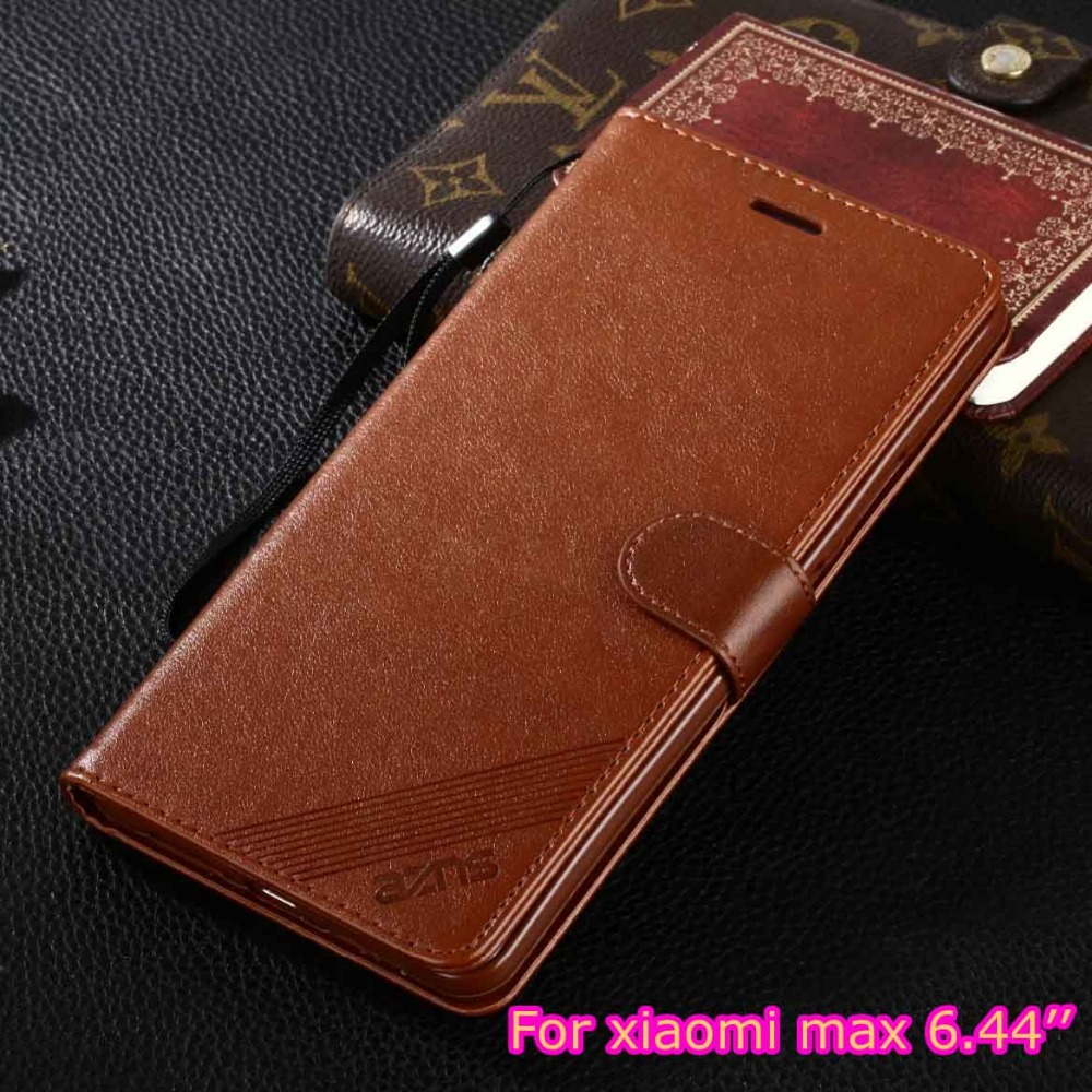 DIYABEI Case For Xiaomi Mi Max 6.44 Luxury Wallet PU Leather Case Stand Flip Card Hold Phone Cover Bags For Xiaomi Mi Max