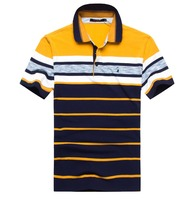 Футболка-поло мужская брендовая одежда tace & Shark брендовая мужская поло с лацканами в полоску воздухопроницаемость и пилинг футболка-поло ...