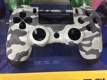 Ps4 Camouflage Shell peau Pour Sony PlayStation 4 PS4 Contrôleur de jeu Urban Camo Supérieure et Vers Le Bas Coque