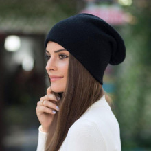 SUOGRY Hat Female Cotton Fashion High Quality 2018 Knitted New Winter Hats Women Skullies Bonnet Bonnets