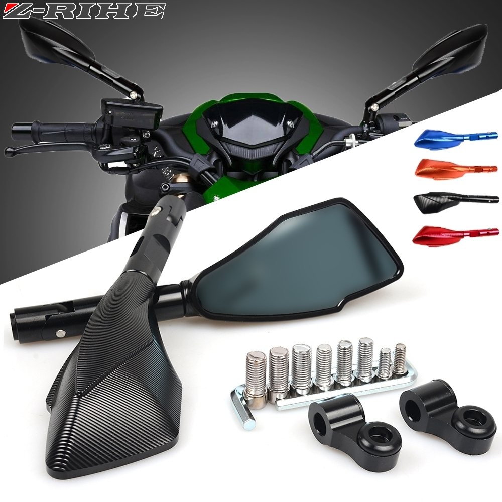Motorcycle Mirrors motorbike moto CNC Rearview side Mirror Aluminum For honda HORNET 250 600 900 Big