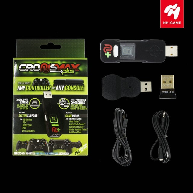 US $68 99 |Converter For CronusMax Plus Gaming Adapter For PS3 for PS4 /Pro  for Xbox 360/One / S/X Controller Converter Keyboard-in Gamepads from