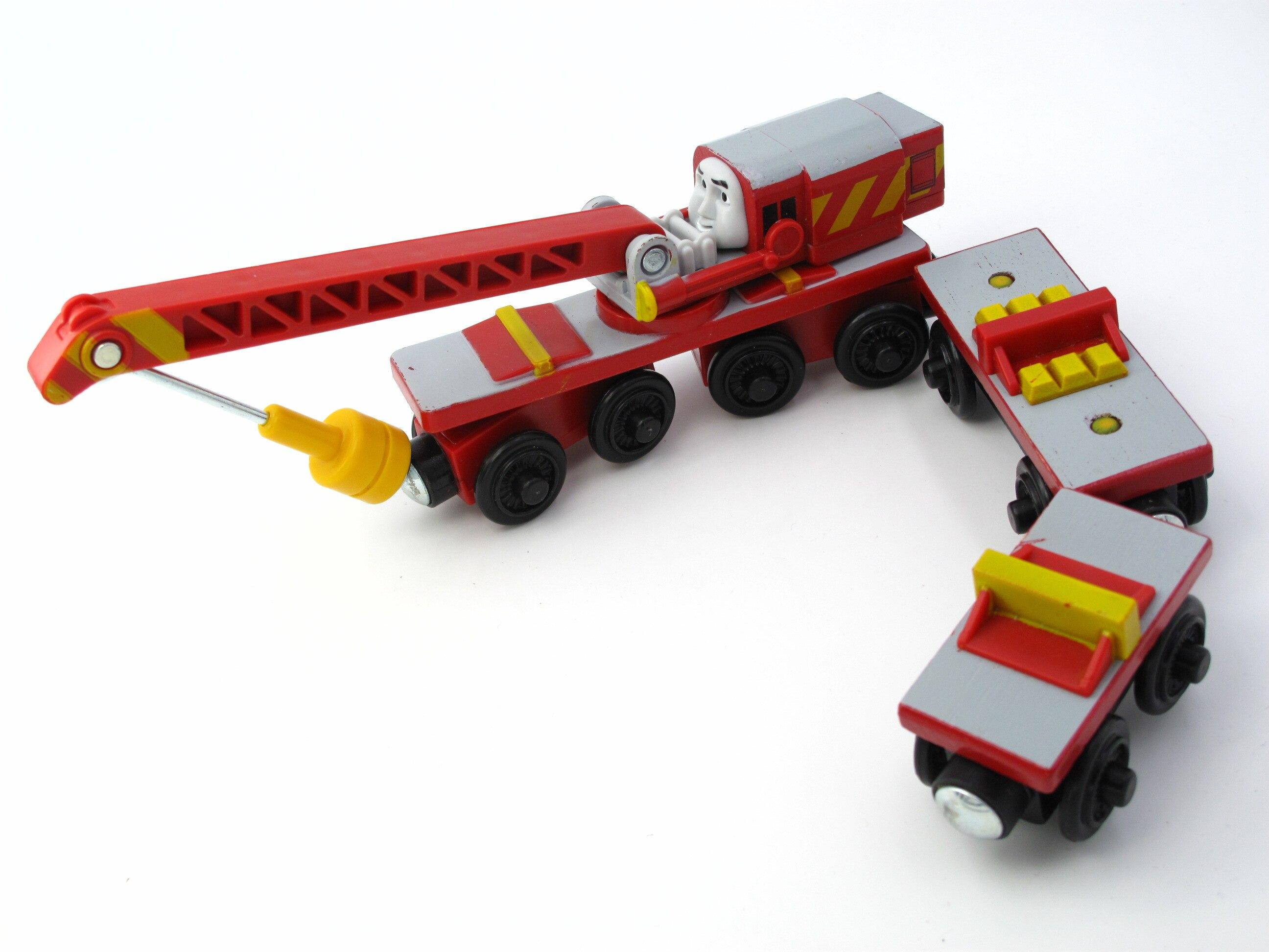 Train en bois T111W ROCHEUX Magnétique Camion De Voiture Locomotive Moteur Ferroviaire Jouets pour Enfants