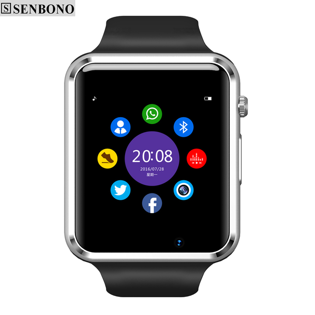 Senbono T50 WristWatch Bluetooth Smart Watch Sport Pedometer