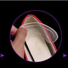 Тип волны Силиконовый гель высокий каблук стикер пятки площадку как анти-обувь трения липкий коврик для Hug каблук Вставить уход за ногами подушки