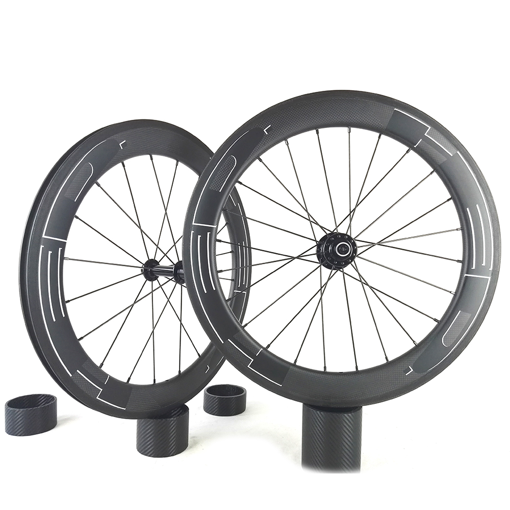 HED Wheels 25mm width carbon wheelset 88C full carbon clincher super light 700c road bike wheelset free shipping 700c full carbon wheels 23mm width clincher tri spoke fortrack triathlon time trial road bike wheelset