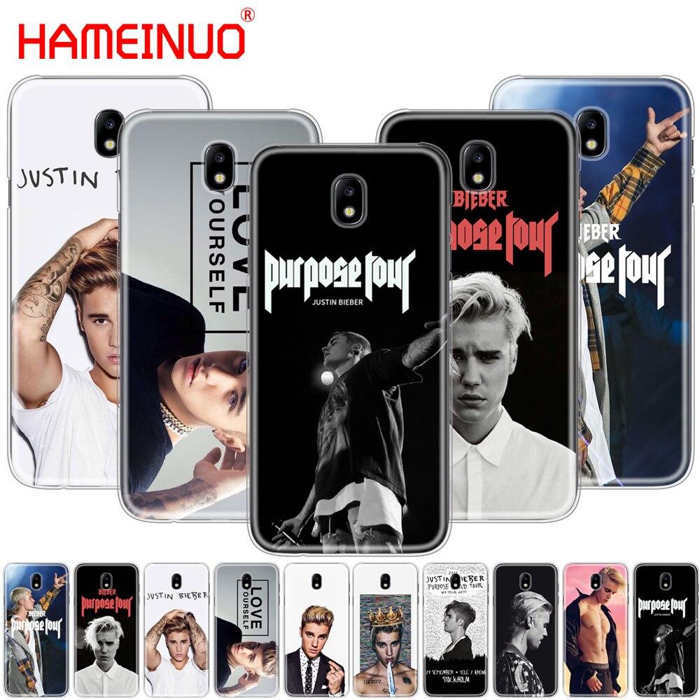 Hameinuo Justin Bieber Purpose Tour Cover Phone Case For Samsung Galaxy J3 J5 J7 2017 J527 J727 J327 J3 Prime J330 J530 J730 Half-wrapped Case