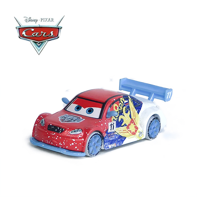Disney Pixar Cars Diecast Ice Racers Vitaly Petrov Diecast Cars Disney Car Toy Great Collection Kids Best Festival Gift