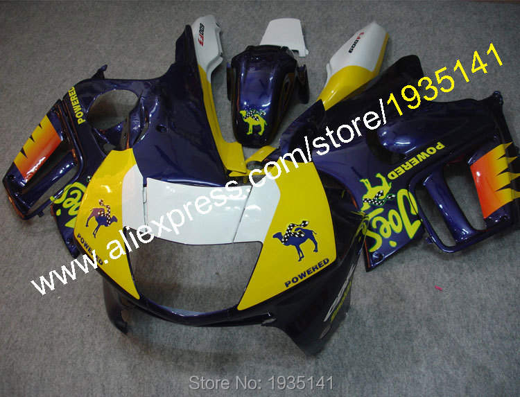 Hot Sales,For Honda CBR600 F3 1997 1998 Parts CBR 600 F3 97 98 CBR 600F3 Customized Motorcycle Fairing Kit (Injection molding)