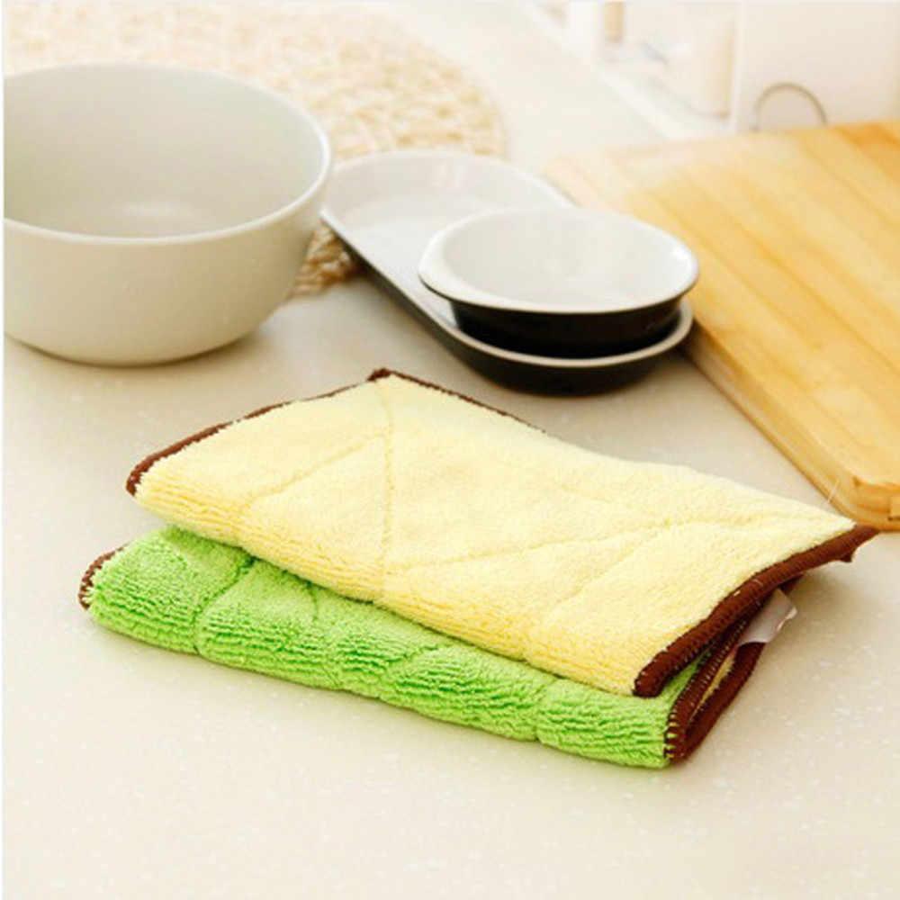 """מטבח כביסה ליטוש בד בית מטבח Accessorie מעורב צבע מיקרופייבר רכב ניקוי מגבת s # י""""ש"""