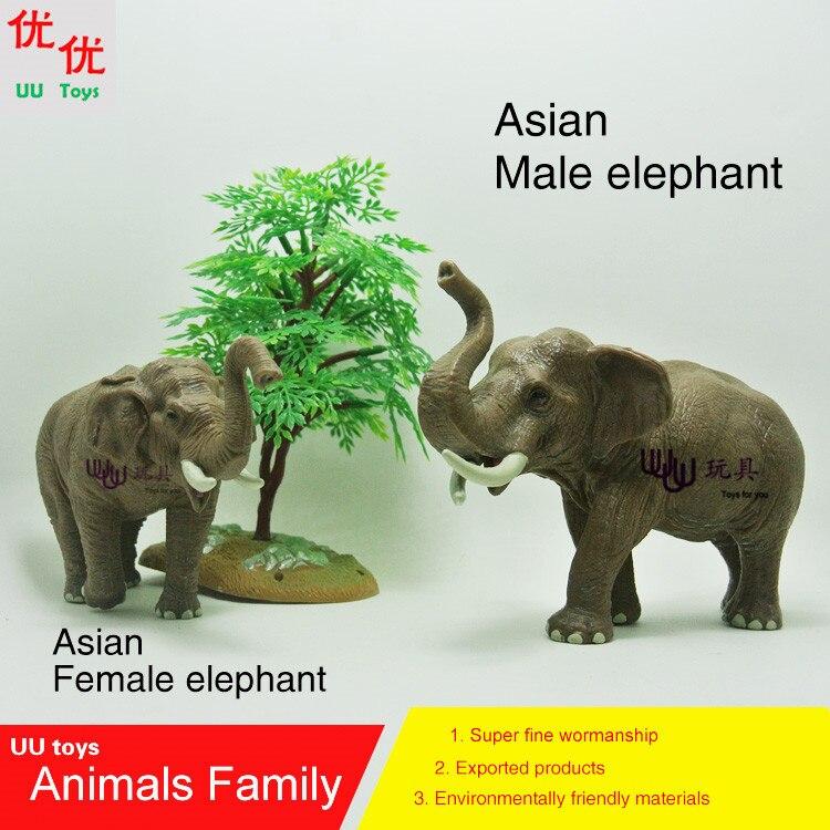 5c899696 ᗑ】Hot toys: azjatyckie słoń (kobieta i mężczyzna słoń) pakiet ...