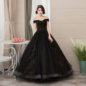 Image 5 - Mrs Win 2020 Vintage Quinceanera Jurken 4 Kleuren Kant Borduurwerk Vestidos De 15 Anos Luxe Party Prom Vestido Debutante F