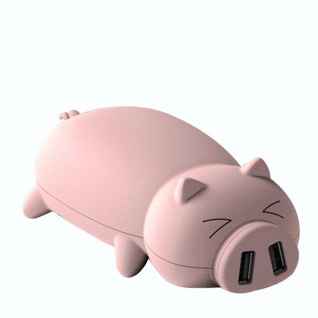 Pouco piggy banco do poder 11500 mah, originalidade porco dos desenhos animados em forma de poder carregador de bateria portátil para iphone/ipad/smart phones