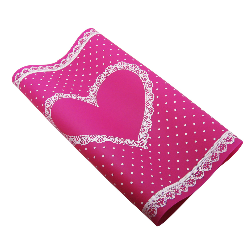 Beauty Care Pro Nail Art Equipment Advanced Silicone Table Mat Pad Cute Point Lace Silic ...