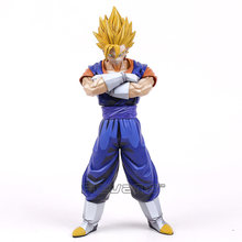 Dragon Ball Z Estrelas Mestre Pedaço MSP Dimensões Do Mangá Vegetto PVC Figure Collectible Modelo Toy 26 cm(China)