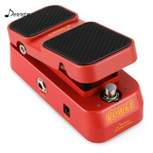цена на Donner 2 in 1 Vowel Mini Active Wah Volume Effect Guitar Pedal