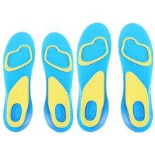 S/l стелька массажные arch ортопедических anti-slip ногами человека pad силиконовые пара