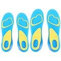 1 Par Ortesis Arco Soporte de Gel de Masaje de Silicona Antideslizante Soft Sport Pad Plantilla Cuidado de Los Pies Para Hombre Mujer tamaño S/L
