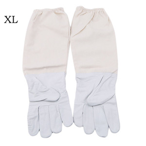 Image 4 - 2019 cant miss recommended Beekeeping Gloves Goatskin Bee Keeping with Vented Beekeeper Long Sleeves beekeeping supplies