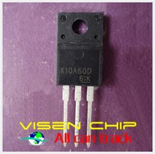 10 pcs K10A60D TK10A60D TO-220F
