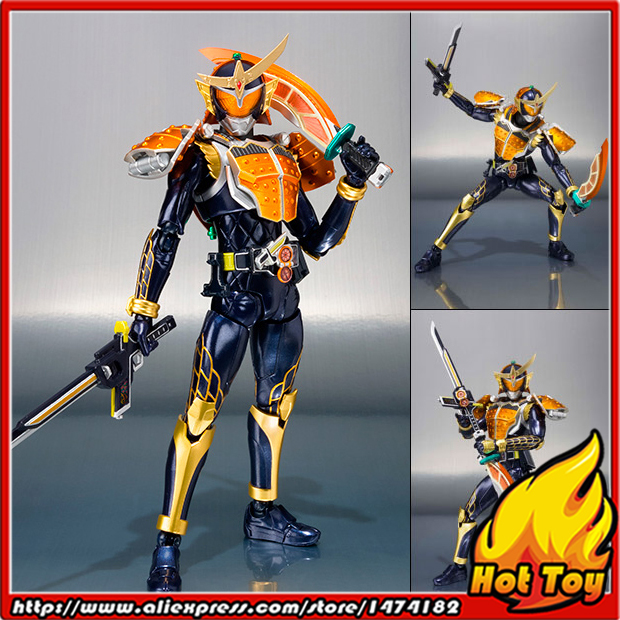 Original BANDAI Tamashii Nations S.H.Figuarts (SHF) Action Figure - Kamen Rider Gaim Orange Arms from Kamen Rider Gaim