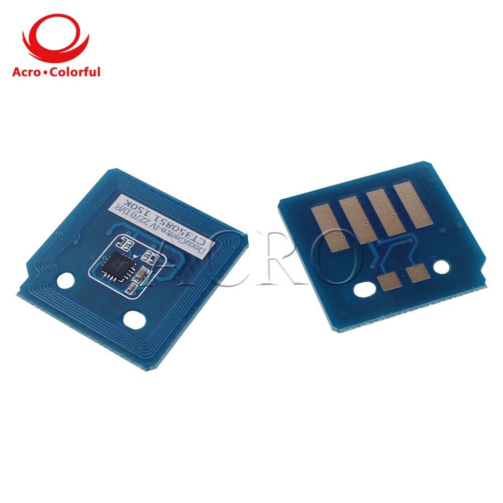 2 шт. в наборе, CT201370 CT201373 тонер чип для Xerox ApeosPort-C2270 C2275 C3370 C3371 C3373 C3375 C4470 C4475 C5570 C5575 лазерный принтер