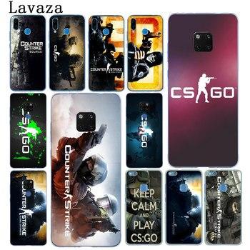 Lavaza CS ir Counter Strike arma huelga funda del teléfono para Huawei Mate 30 20 Pro 10 Lite Y6 primer Nova 5I 4 3i 3 2i 2 Lite funda