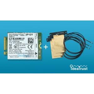 DW5811e Sierra EM7455 3P10Y Gobi6000 X7 FDD TDD LTE 4G WWAN moduł karta sieciowa dla Dell E7470 E7270 E5570 E5470 anteny