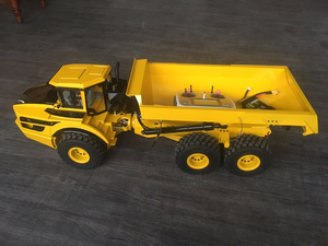 Image 4 - 1/14 rc מפרקי dump משאית הידראולי dump משאית/rc dump משאית