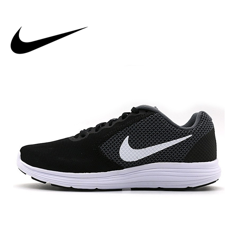 Official NIKE Original Breathable REVOLUTION Mens Running Shoes Sports Sneakers Outdoor Walking Jogging Comfortable DurableOfficial NIKE Original Breathable REVOLUTION Mens Running Shoes Sports Sneakers Outdoor Walking Jogging Comfortable Durable