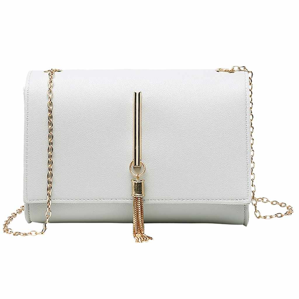 Fashion Small Crossbody Bags for Women 2019 Mini Lady Shoulders Tassel Package Letter Purse Mobile Phone Messenger Summer Bag