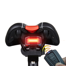 ANTUSI A6 Bicycle 3 in 1 Wireless Rear Light Cycling Remote Control Alarm Lock Mountain Bike Smart Bell COB Tailight USB Charge