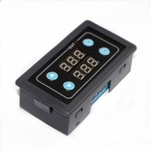 цена на New digital display time relay, timing delay loop control relay module 220V24V12V5V