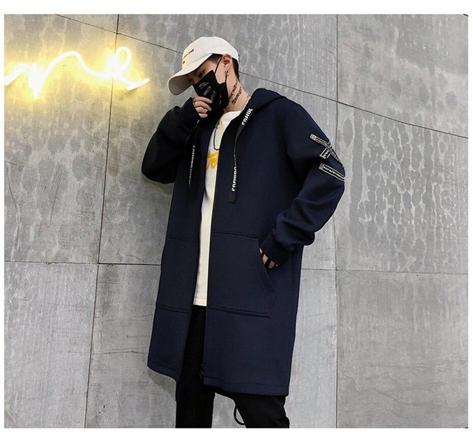 HTB19gECKZfpK1RjSZFOq6y6nFXaL Long Jacket Men Print Fashion 2019 Spring Harajuku Windbreaker Overcoat Male Casual Outwear Hip Hop Streetwear Coats WG198