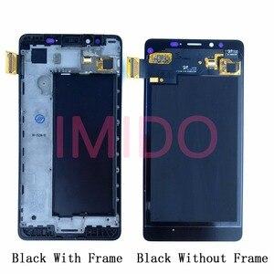 Image 2 - עבור Nokia Lumia 950 RM 1104 RM 1118 LCD תצוגה + מסך מגע Digitizer עצרת + מסגרת החלפת חלקים