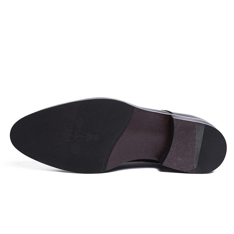 Homens Grife Qualidade Sapatos Couro Oxfords Negócios Marca Homem De vermelho Chegada Mycoron Masculinos Vinho Superior Botas Preto Nova Clássicos qx4PEAw7