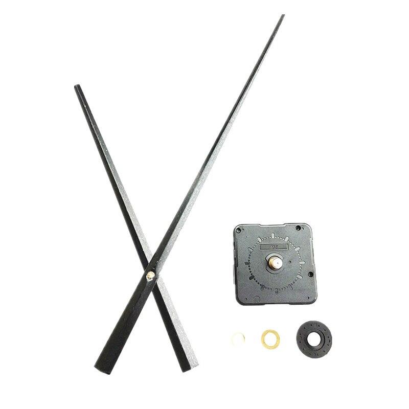 Ev ve Bahçe'ten Saat Parçaları ve Aksesuarları'de 100 ADET Sweep Quartz Saat Mekanizması Büyük Büyük Pointer Setleri DIY Büyük Ev duvar saati'da  Grup 1