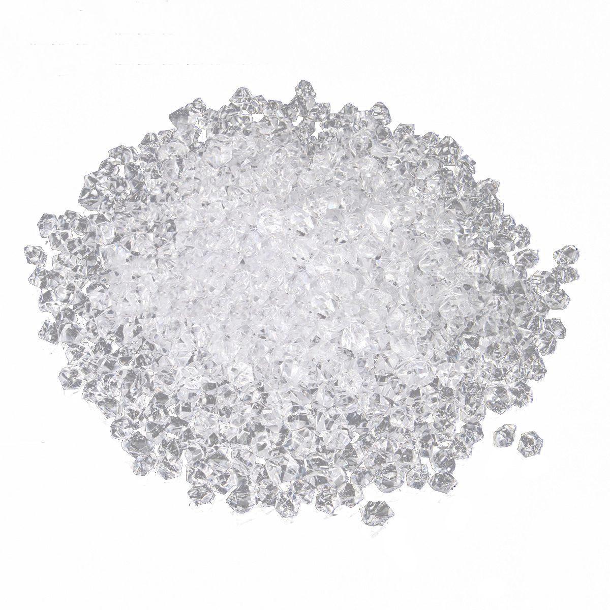HOT SALE 1000pcs Acrylic Crystal Gem Stone ICE Rocks Table Scatter Vase Decoration New, 1000Pcs 14Mm