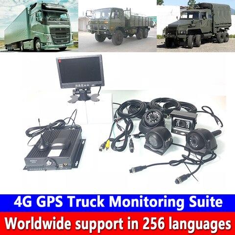 sistema de monitoramento remoto hd localizador rastreador 4 dual channel cartao sd 4g gps caminhao