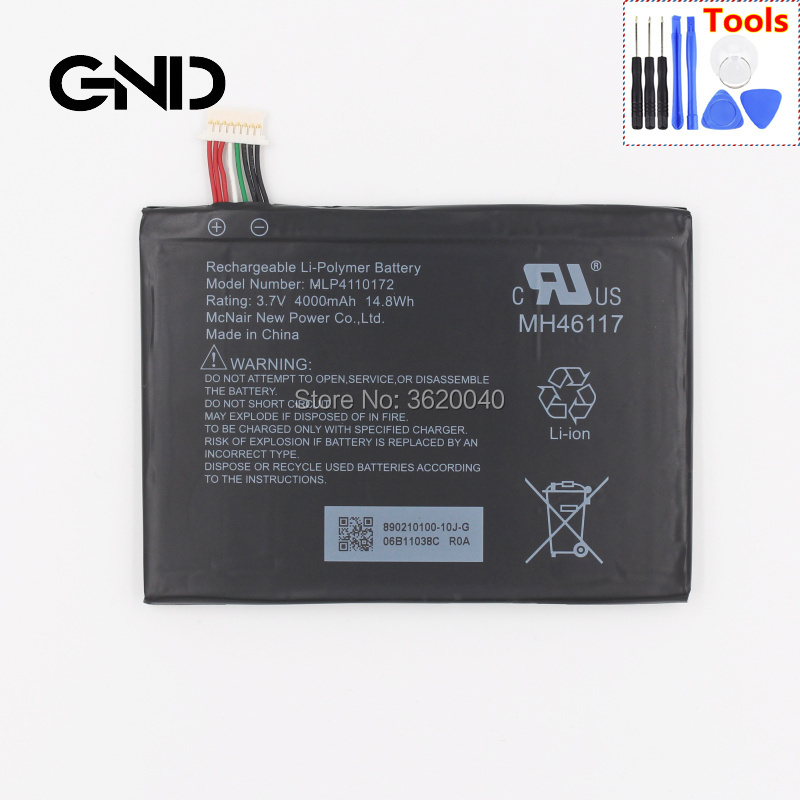 Rand Mcnally Gps >> Us 19 95 Gnd 4000mah 14 8wh 3 7v Mlp4110172 Replacement Battery For The Rand Mcnally Overdryve 7 In Connected Car Gps Tablet Batterie In Tablet