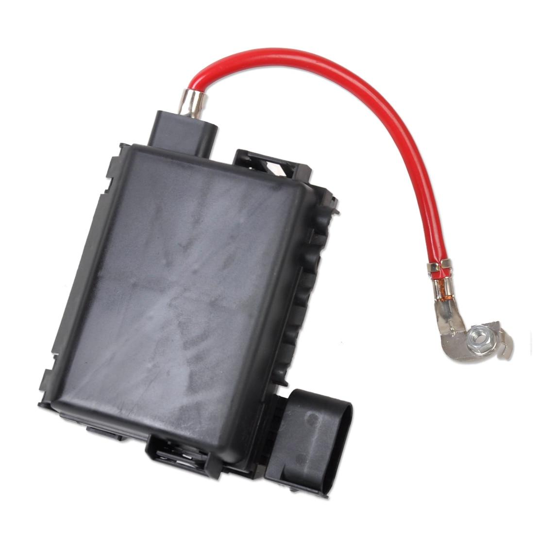 dwcx 1j0937550a black fuse box battery terminal for volkswagen vw beetle golf jetta bora mk4 audi [ 1110 x 1110 Pixel ]