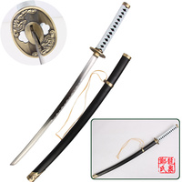 Free Shipping Yamato Sword Real Steel Blade Japanese Katana Decorative Swords For Devil May Cry Vergil's Cosplay Props